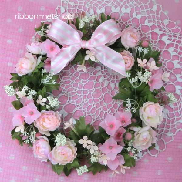 Barberton Daisy And Silk Flower Artificial Lease Pink System Fl Sf 258 Of The Carnation