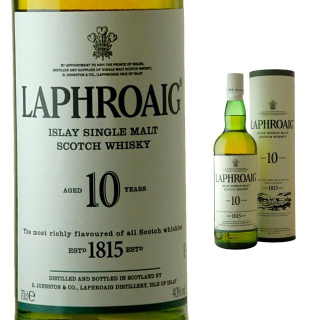 Laphroaig 10 Year 40 700 Ml Halloween Gift Dinner Drink Birthday Liquor Celebration Sake Gifts Retirement Boyfriend His