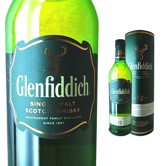 Glenfiddich 12 Year 40 700 Ml Return Wedding Gift Liquor Birthday Presents Scotch Whisky Celebration Sake Women Men