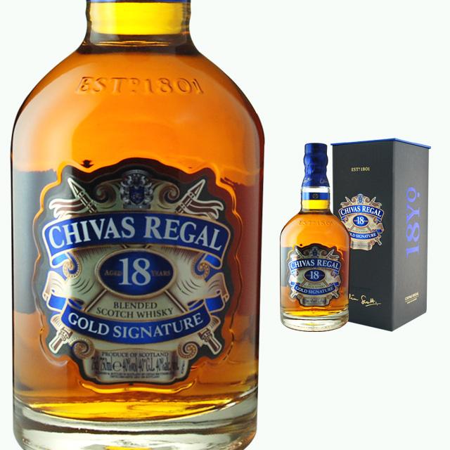 Chivas Regal 18 Year 40 700 Ml Sake Birthday Present Liquor Scotch Whisky Whiskey Back Boyfriend His Wedding Woman Women Men Gift Retirement Thank