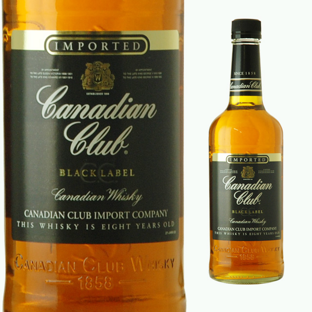 Ricaoh Canadian Club Black Label 700 Ml 40 Degrees Liquor Gifts