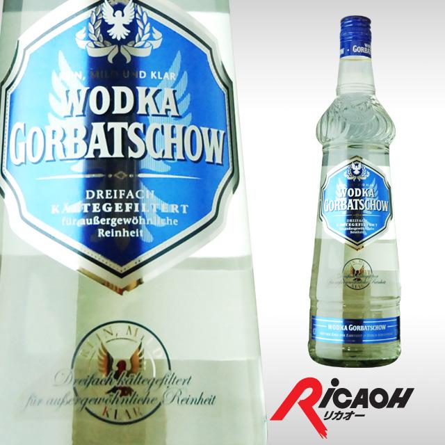 Gorbachev vodka 700 ml 37.5 degrees