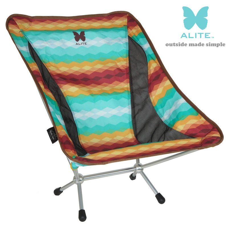 ALITE (エーライト) Mantis Chair 2.0 マンティスチェア South west サウスウエスト 折りたたみ式キャンプチェア 送料無料 ゆるキャン