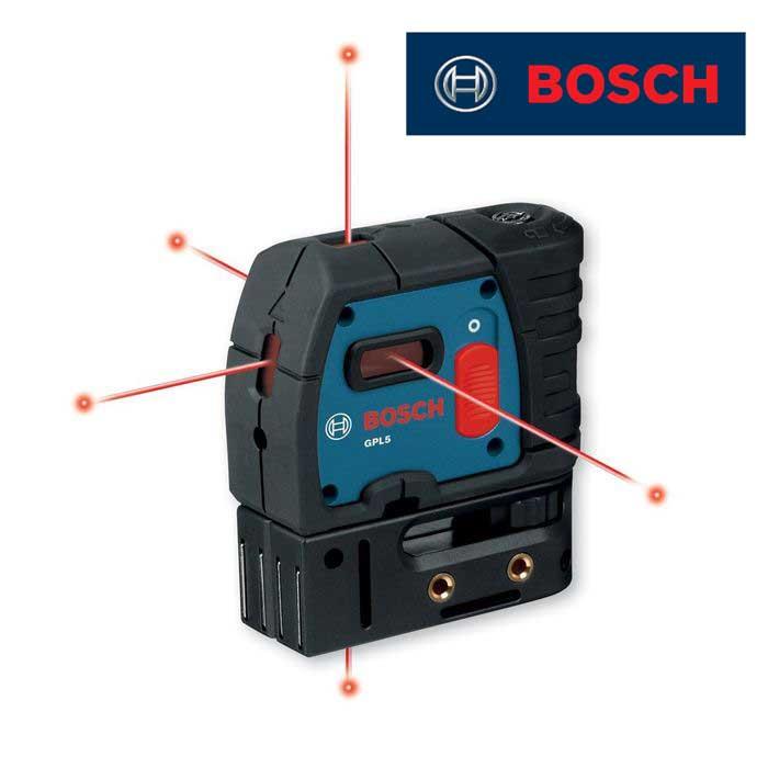 【送料無料】[ボッシュ] Bosch GPL5レーザーレベル 5方向ポインタレーザー