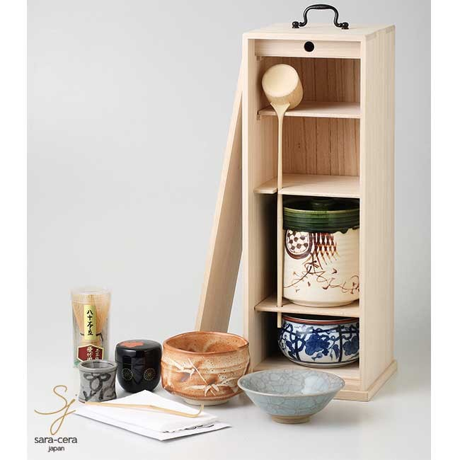 お茶道具セット 白桐 短冊揃 抹茶碗 和食器 食器セット