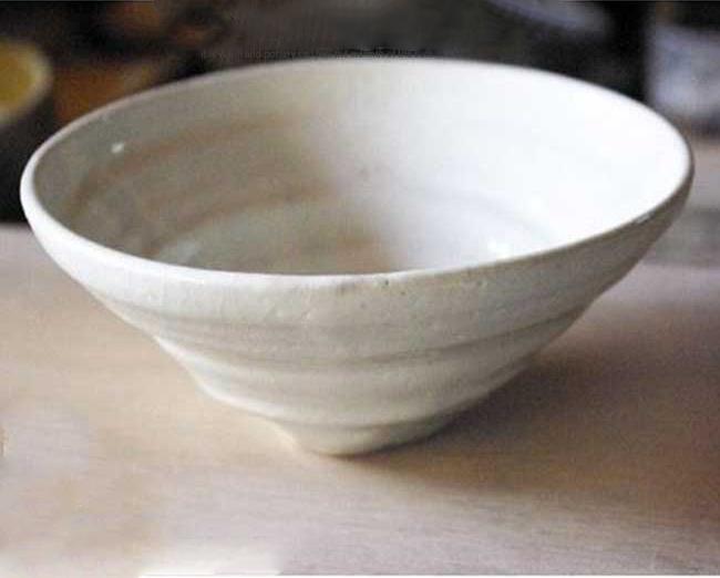 南窯 粉引 サラダ鉢 坂の上のあったか家族工房 和食器