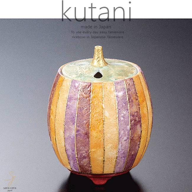 九谷焼 4号香炉 彩色金彩 和食器 日本製 ギフト おうち ごはん うつわ 陶器