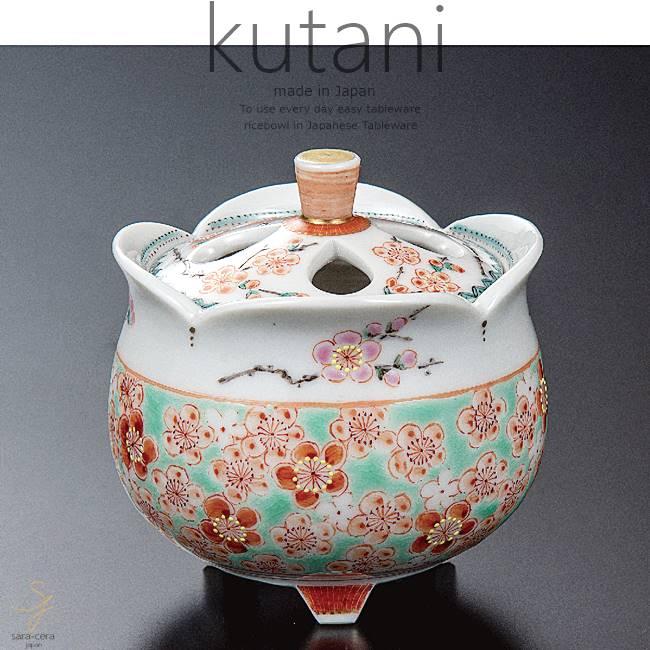 九谷焼 2.5号香炉 梅詰 和食器 日本製 ギフト おうち ごはん うつわ 陶器