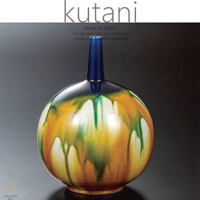 九谷焼 6.5号花瓶 釉彩 和食器 日本製 ギフト おうち ごはん うつわ 陶器