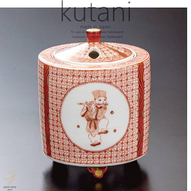 九谷焼 2.8号香炉 からこ文 和食器 日本製 ギフト おうち ごはん うつわ 陶器