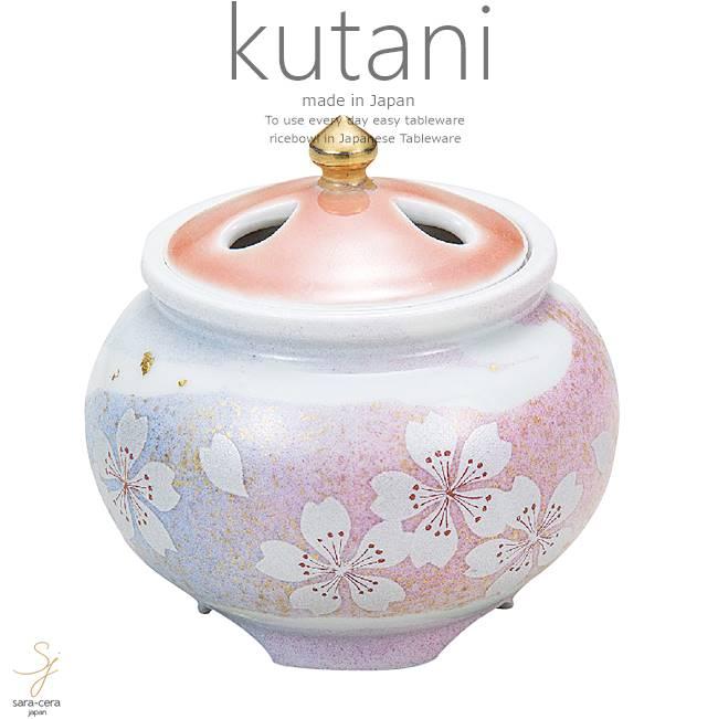 九谷焼 2.8号豆香炉 花の舞 和食器 日本製 ギフト おうち ごはん うつわ 陶器