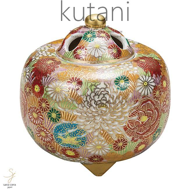 九谷焼 3.2号香炉 花詰 和食器 日本製 ギフト おうち ごはん うつわ 陶器
