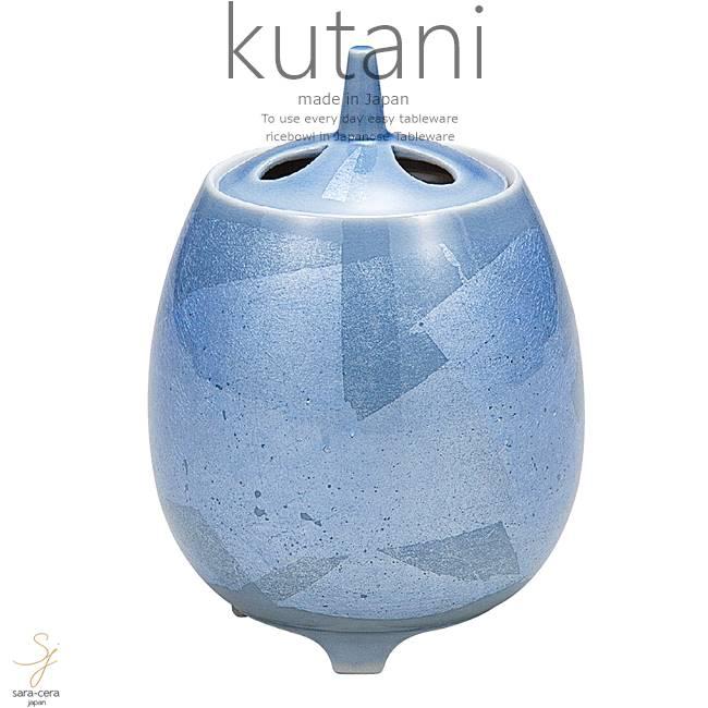 九谷焼 4号香炉 銀彩 和食器 日本製 ギフト おうち ごはん うつわ 陶器
