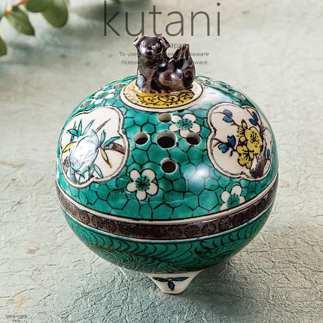 九谷焼 3.5号香炉 松竹梅 和食器 日本製 ギフト おうち ごはん うつわ 陶器