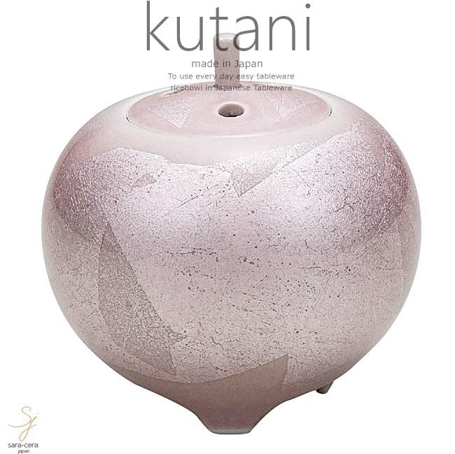 九谷焼 3.5号香炉 銀彩 和食器 日本製 ギフト おうち ごはん うつわ 陶器