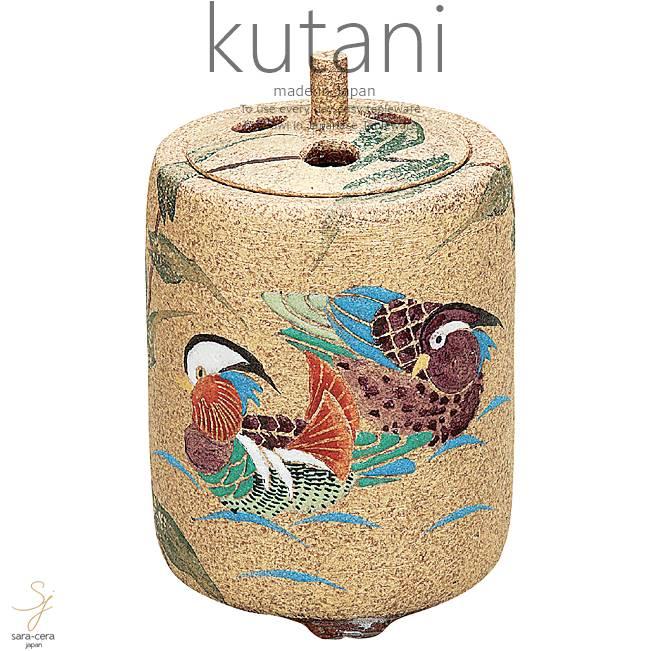 九谷焼 4号香炉 おしどり 和食器 日本製 ギフト おうち ごはん うつわ 陶器