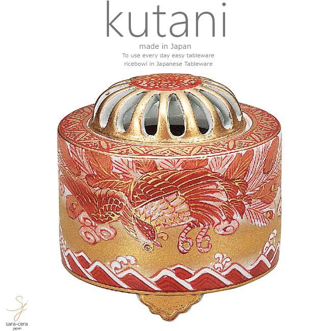 九谷焼 3号香炉 鳳凰 和食器 日本製 ギフト おうち ごはん うつわ 陶器