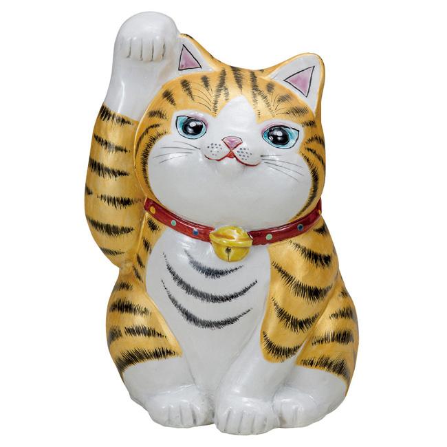 九谷焼 7号招き猫 金彩 和食器 日本製 ギフト おうち ごはん うつわ 陶器