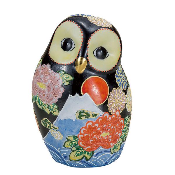 九谷焼 6号ふくろう 花づくし 和食器 日本製 ギフト おうち ごはん うつわ 陶器