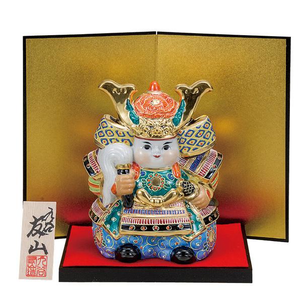九谷焼 6号武者人形 盛 和食器 日本製 ギフト おうち ごはん うつわ 陶器