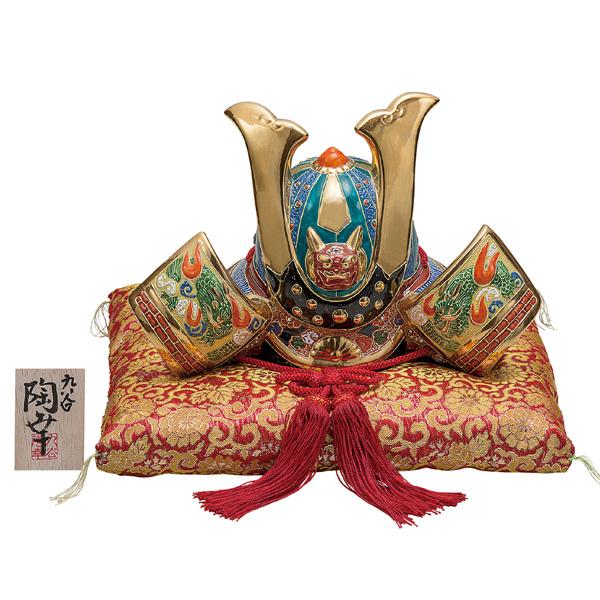 九谷焼 10号兜 金盛 和食器 日本製 ギフト おうち ごはん うつわ 陶器