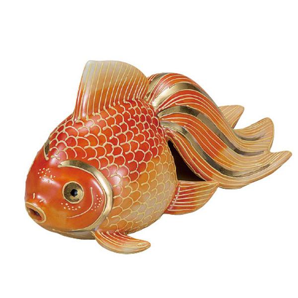 九谷焼 5号金魚 紅盛 和食器 日本製 ギフト おうち ごはん うつわ 陶器