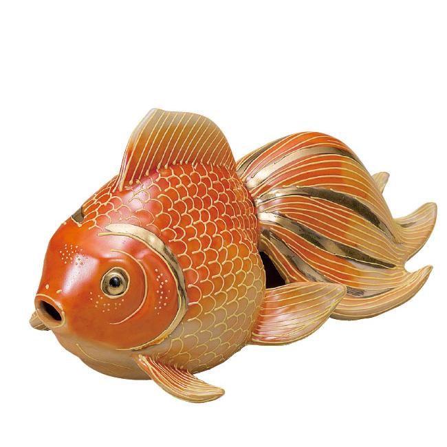 九谷焼 7号金魚 紅盛 和食器 日本製 ギフト おうち ごはん うつわ 陶器
