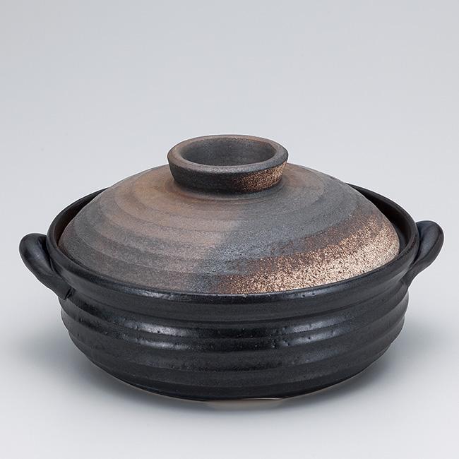 和食器 土鍋 万古焼 マグマテックカントリー9.0IH対応9号 お鍋 食器 おうち 直火