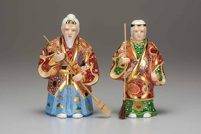 九谷焼 7.5号高砂 盛 日本製 ギフト うつわ 陶磁器