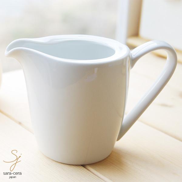 簡単おうちでカフェ ホテル風に 真っ白な清潔感あふれる白い食器 ギガフレンチホワイト セール特別価格 洋食器 [宅送] Lサイズ ミルクピッチャー 白い食器のクリーマーピッチャー