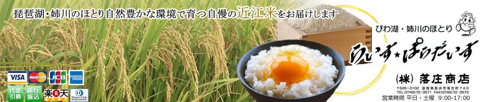 らいすぱらだいす:明治2年創業より、生産者と安全で美味しい近江米をご提供しています。
