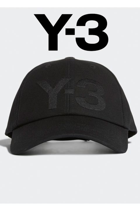 Y-3(ワイスリー)プルオーバーパーカー【黒/ブラック】【メンズ】【Y-3 LOGO CAP】【FQ6974 】【2020春夏新作】【ワンポイント】【BBキャップ】【ストリート】【アディダス】【送料無料】