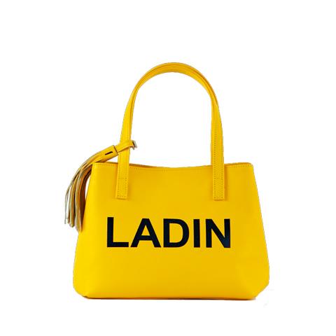 LADIN(ラディン)2020年春夏新作/2020SS ゴルフバック【黄色/イエロー】【カートバッグ/ラウンドポーチ】【ユニセックス/メンズ/レディース】【ポーチ付き/取外し可能なタッセル付き】【カバン】【送料無料】