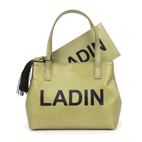 LADIN(ラディン)2020年春夏新作/2020SS ゴルフバック【gold/ゴールド/金色】【カートバッグ/ラウンドポーチ】【ユニセックス/メンズ/レディース】【ポーチ付き/取外し可能なタッセル付き】【カバン】【送料無料】