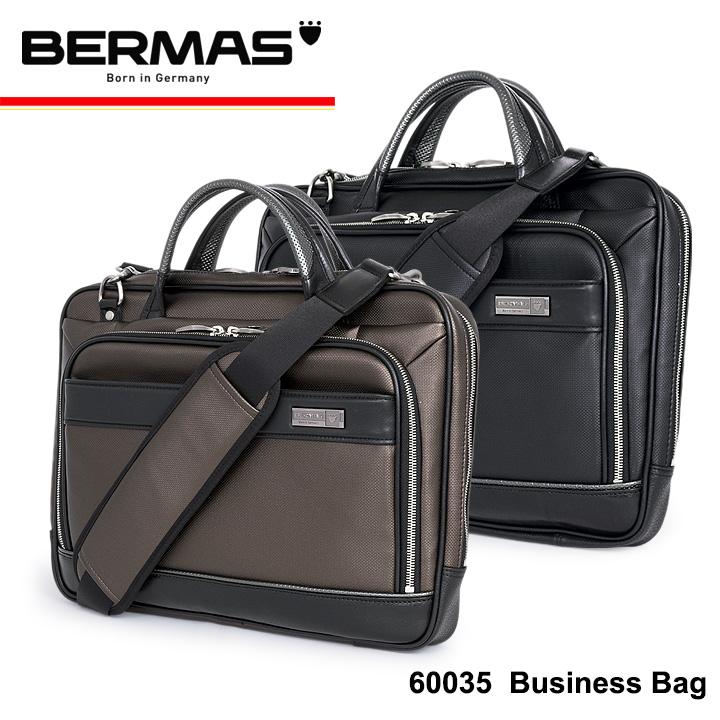バーマス ブリーフケース 60035 【 豊岡鞄 】【 2way ビジネスバッグ メンズ トートバッグ 】【 トロッターバッグ 】[bef][PO10]