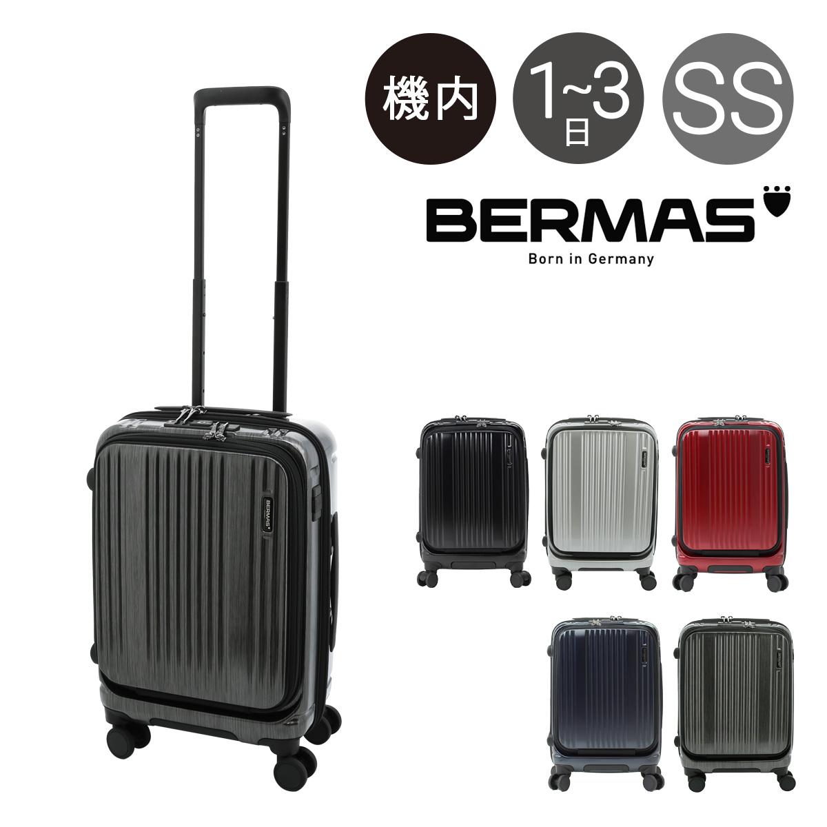 バーマス スーツケース 機内持ち込み 35L 48cm 3.1kg ハードファスナー メンズ 60500 BERMAS | キャリーバッグ キャリーケース TSAロック搭載[PO10]