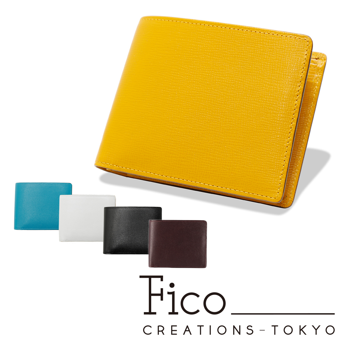 フィーコ 財布 二つ折り オルロ 0058857 | Fico 小銭入れ付き 本革 レザー[PO5][bef]