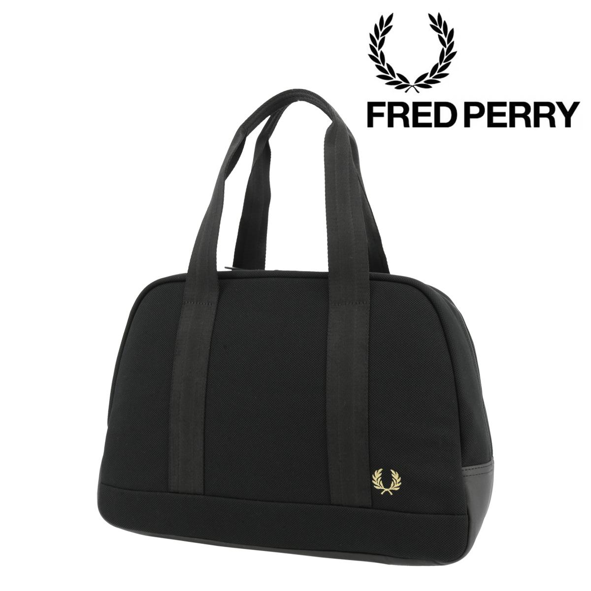 フレッドペリー ボストンバッグ A4 ピケグリップバッグ メンズ レディース F9588 FRED PERRY | ハンドバッグ[PO10][即日発送]