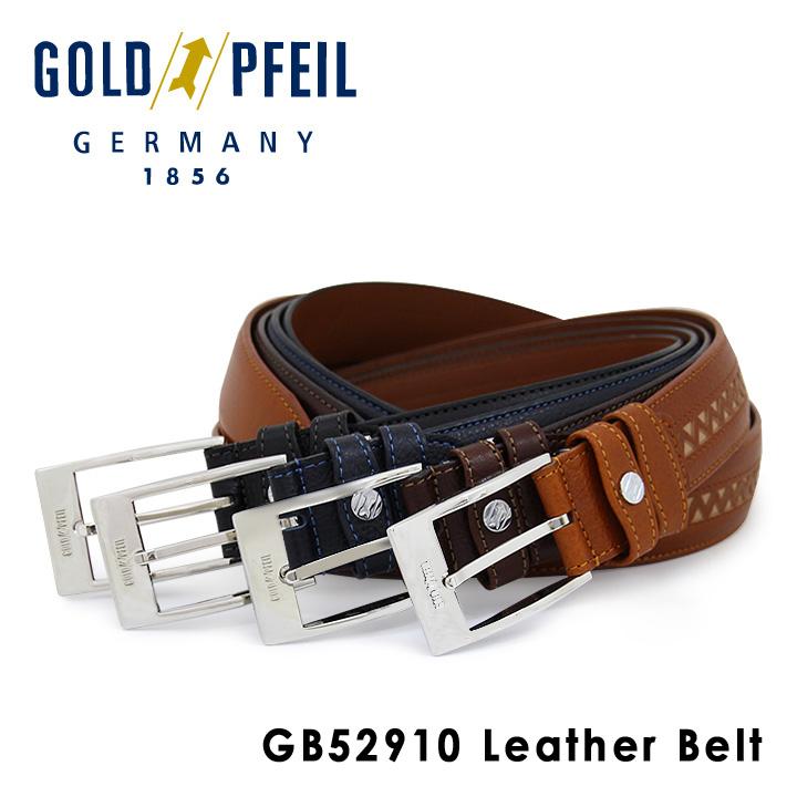 ゴールドファイル ベルト GB52910 【 レザー メンズ 】[bef][PO10]