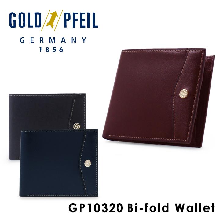 ゴールドファイル 二つ折り財布 GP10320 OXFORD 【 札入れ メンズ レザー 】[bef][PO10]
