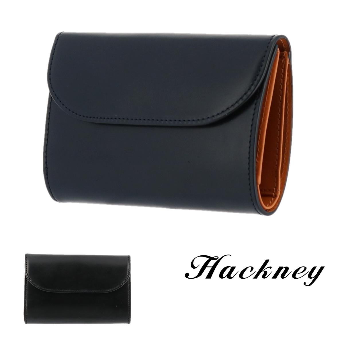ハックニー Hackney 三つ折り財布 HK-004 【 ブライドルレザー 財布 イタリアンレザー メンズ 】【bef】