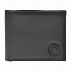 ハンティングワールド 310 13A BATTUE ORIGIN BLACK 二つ折り財布(小銭入れ付)[bef]