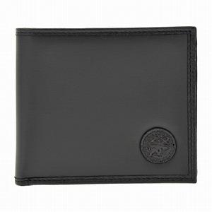 ハンティングワールド 320 13A BATTUE ORIGIN BLK 二つ折り財布(小銭入れ無し)[bef]