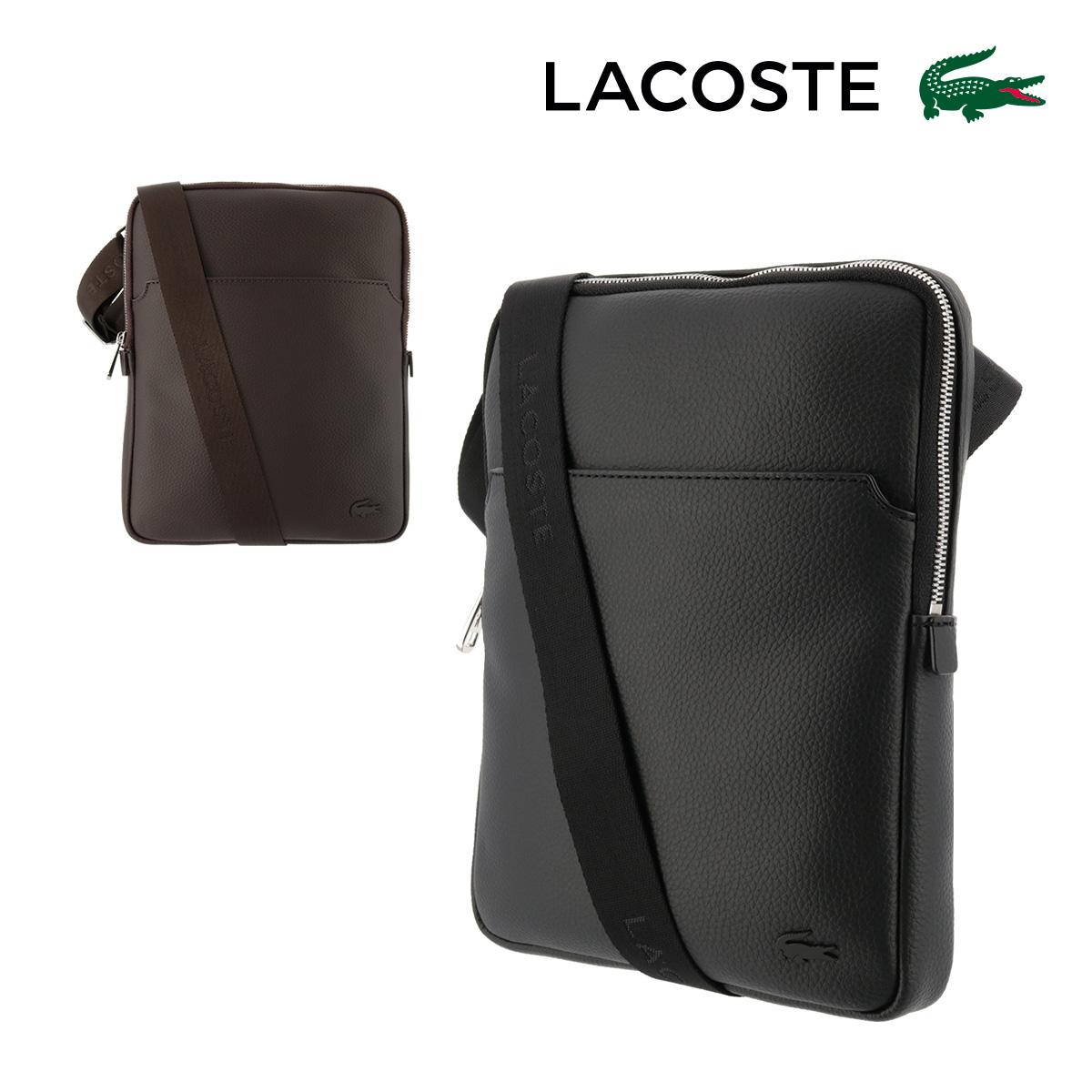 ラコステ ショルダーバッグ Lサイズ メンズ GAEL 465110 | LACOSTE 軽量 コンパクト 【PO5】