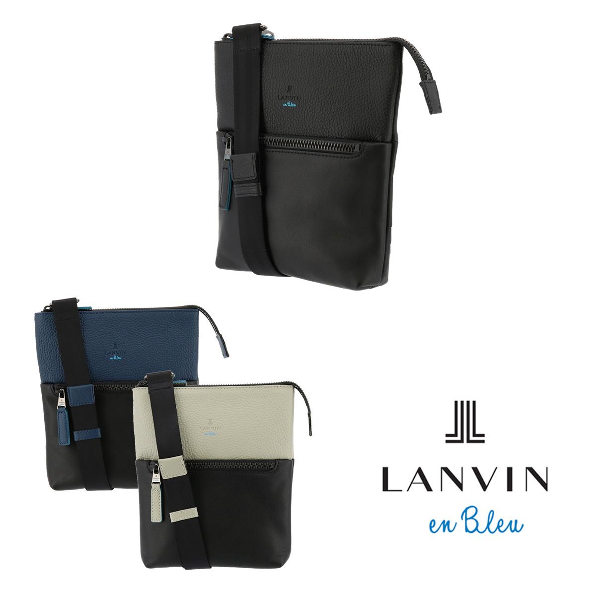 ランバンオンブルー LANVIN en Bleu ショルダーバッグ 574101 フェリチタ 【 メンズ レザー 】[bef][PO10]
