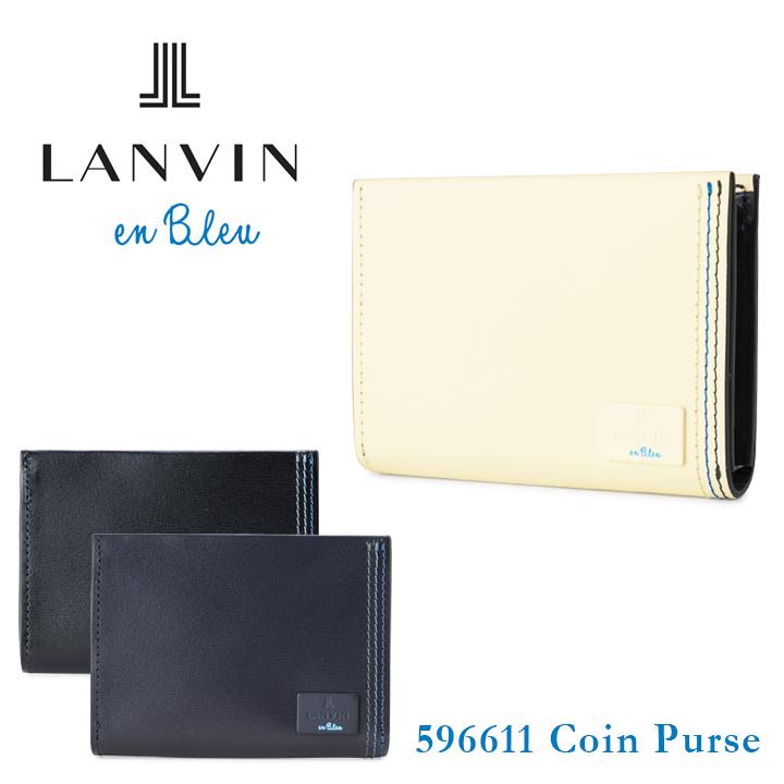 ランバンオンブルー コインケース 596611 LANVIN en Bleu 【 ランバンオンブルー 】【 小銭入れ 財布 メンズ レザー 】[bef][PO10]