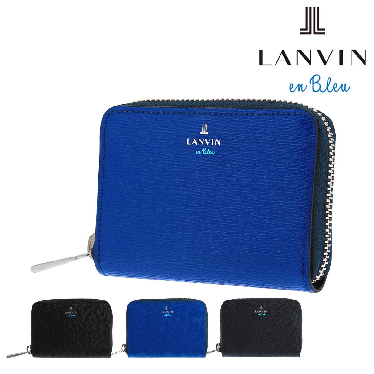 ランバンオンブルー 財布 小銭入れ ワグラム メンズ579601 LANVIN en Bleu | コインケース ラウンドファスナー 本革 レザー[bef][PO10]