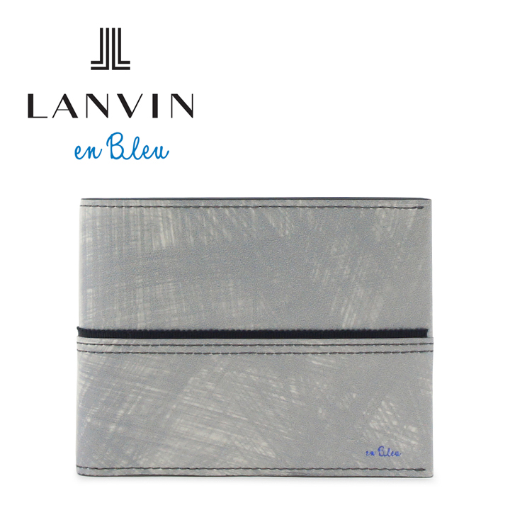 ランバンオンブルー 財布 553603 グラン LANVIN en Bleu 【 ランバンオンブルー 】【 二つ折り 財布 メンズ 】[bef][PO10][即日発送]
