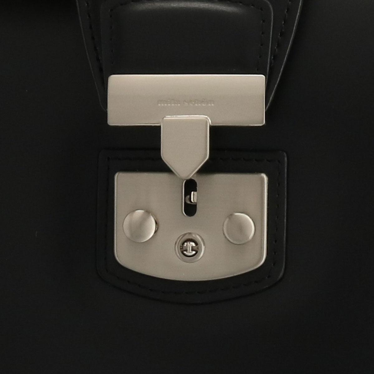 ミラショーン ブリーフケース 2WAY メンズ 日本製 ニュートレノ 299553 | milaschon ショルダーバッグ ビジネスバッグ 鍵付 本革 レザー[PO5][bef]