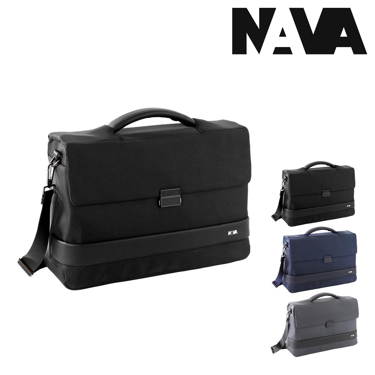 NAVA design ブリーフケース 2WAY A4 イージープラス メンズ EP002 ナヴァデザイン EASYビジネスバッグ ショルダーバッグ キャリーオン PCケース 15インチ PO10bef即日発送qMLzGUVSp